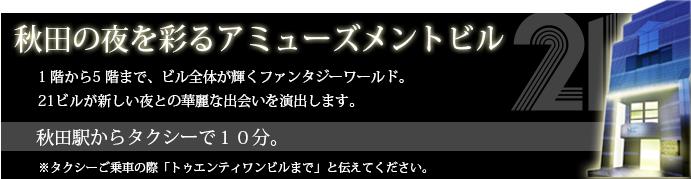 秋田の夜を彩るアミューズメントビル